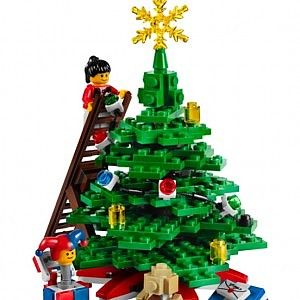 Albero di Natale LEGO al MAXXI
