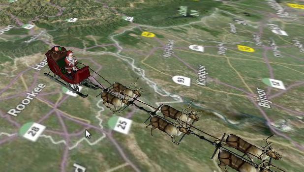 Babbo Natale Noradsanta.org